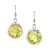 Faceted Round Earrings