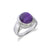Men's Cabochon Amethyst Ring