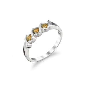 Three Stone Daughter Ring