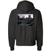 'BROOME ST.' CHAMPION HOODED SWEATSHIRT
