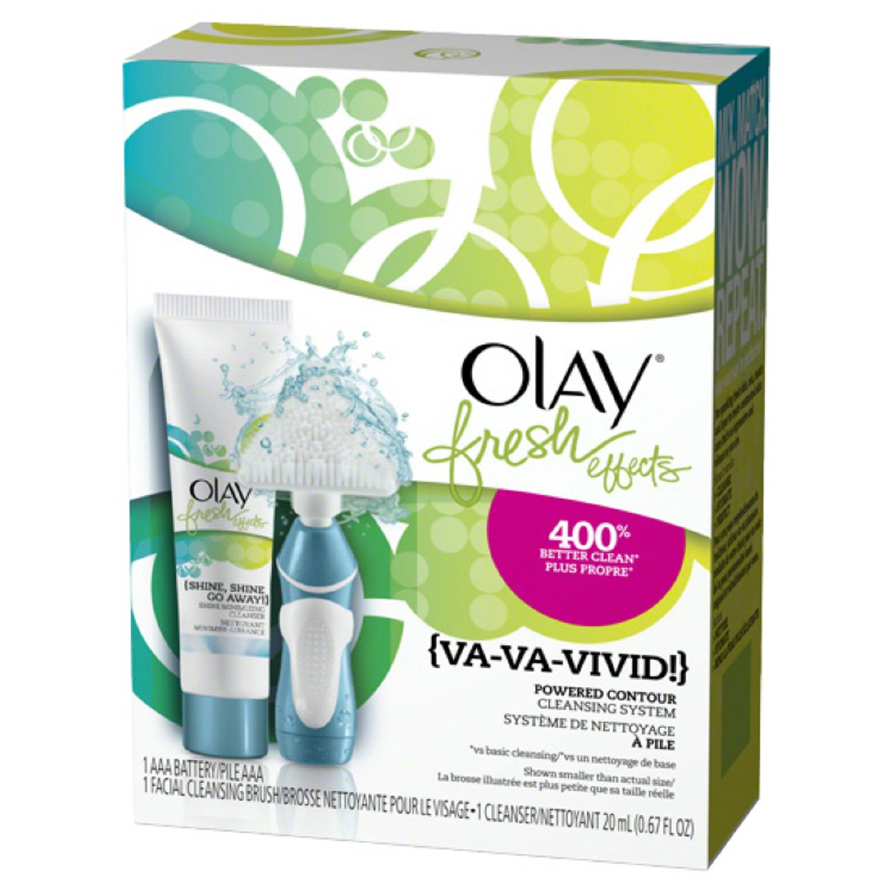 Olay Fresh Effects Powdered Contour Cleansing System