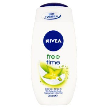 NIVEA Shower Cream 250mL Free Time