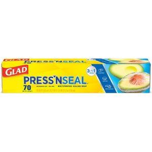 Glad Value Pack includes Cling Wrap 90m + Press n Seal 70 sq ft