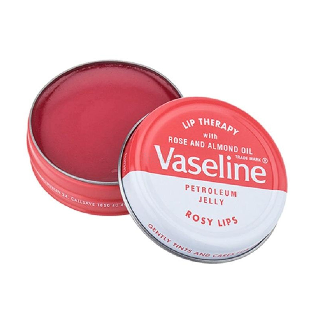 VASELINE Petroleum Jelly 20G Lip Therapy ROSY LIPS