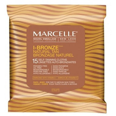 Marcelle I Bronze Natural Tan Cloths Duo