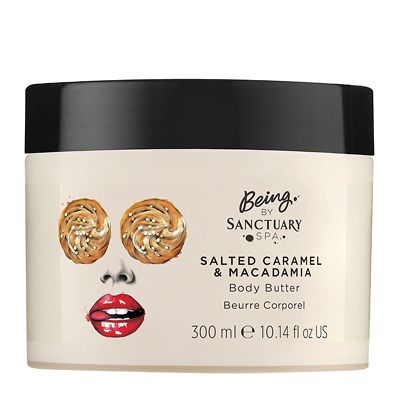 Being by Sanctuary Spa Salted Caramel & Macadamia Body Butter 300ml