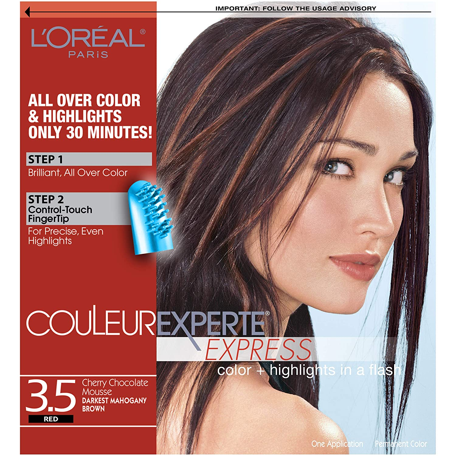 L'Oreal Paris Couleur Experte Cherry Chocolate Mousse 3.5 Red