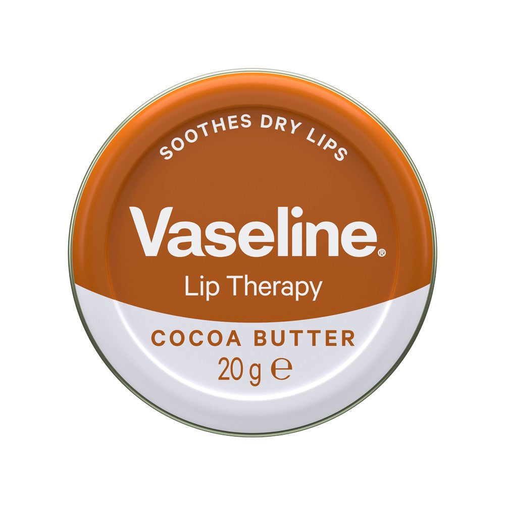 VASELINE Petroleum Jelly 20G Lip Therapy COCOA BUTTER
