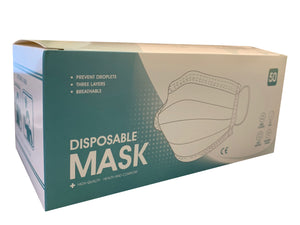 Disposable Protective Masks 50pcs