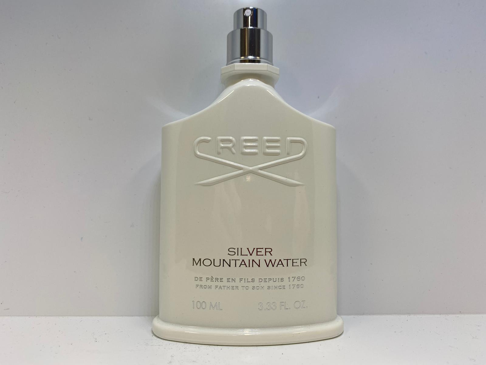 Creed Silver Mountain Water 100ml TESTER - CURBSIDE PICKUP ONLY