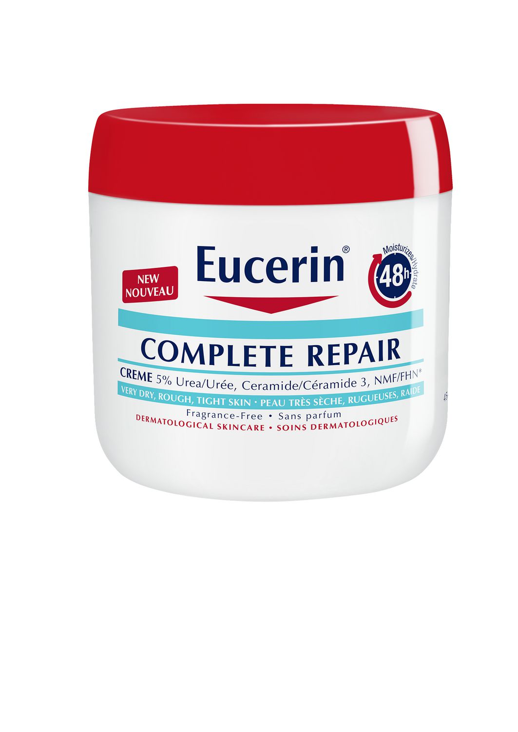 Eucerin Complete Repair Body Cream 454g