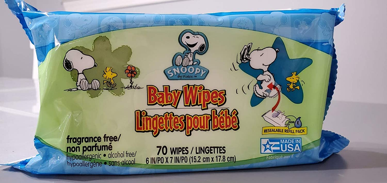Snoopy Baby Wet Wipes 70pc