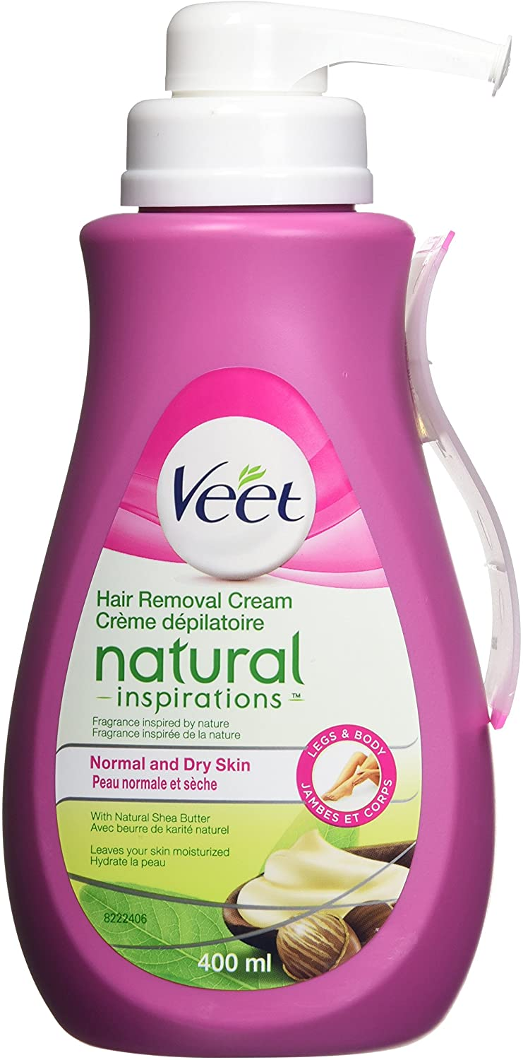 VEET Hair Removal Cream Natural Inspirations Normal and Dry Skin 400mL