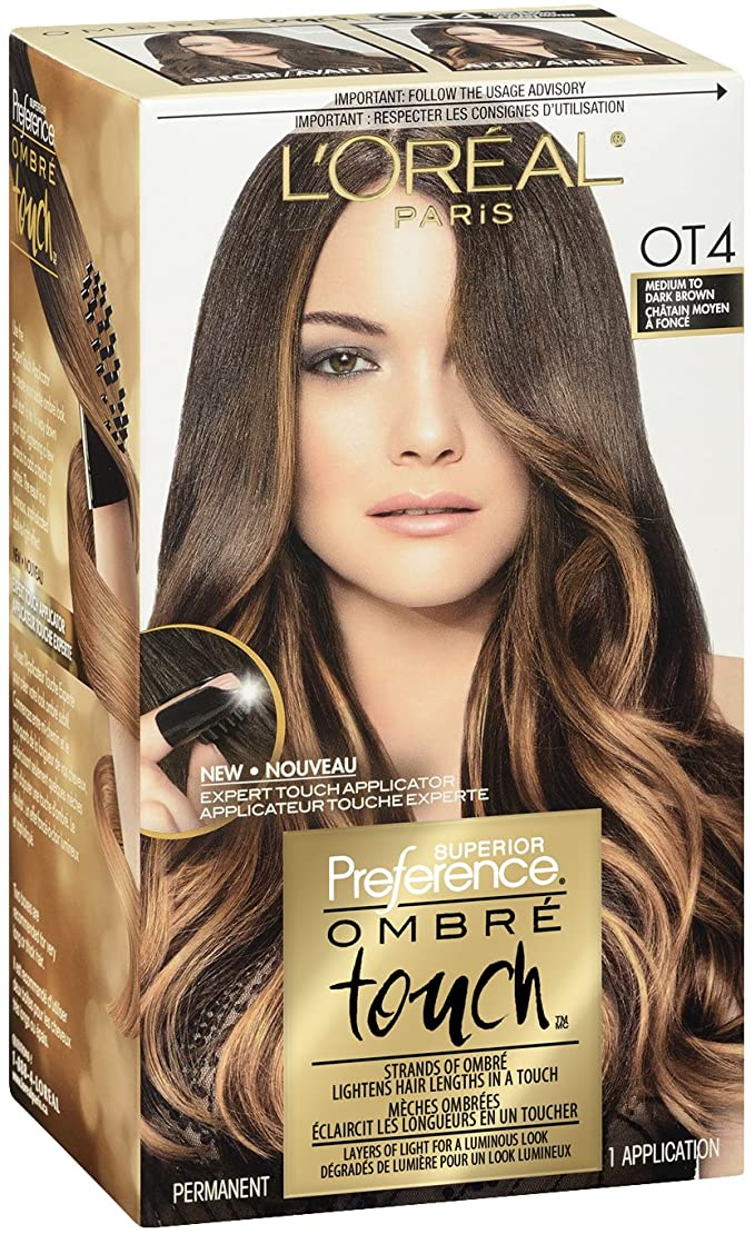L'Oreal Paris Ombre Touch OT4 Medium to Dark Brown