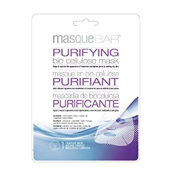 Masque Bar Purifying Bio Cellulose Mask