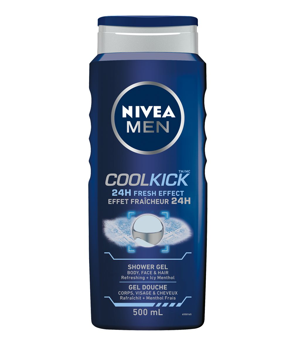 NIVEA MEN Shower Gel Cool Kick 500mL