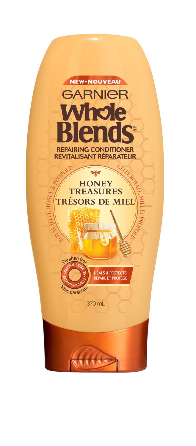 Garnier Whole Blends Honey Treasures  Repairing Conditioner 370mL