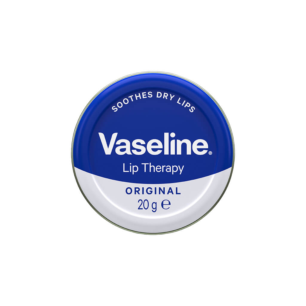 VASELINE Petroleum Jelly 20G Lip Therapy Original