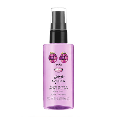 Being by Sanctuary Spa Cloudberry & Lychee Blossom Body Mist 100ml