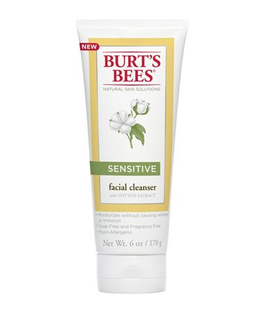 Burt's Bees Sensitive Facial Cleanser with Cotton Extract 170g
