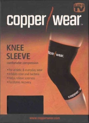 Copper Wear Knee Sleeve Comfortable Compression