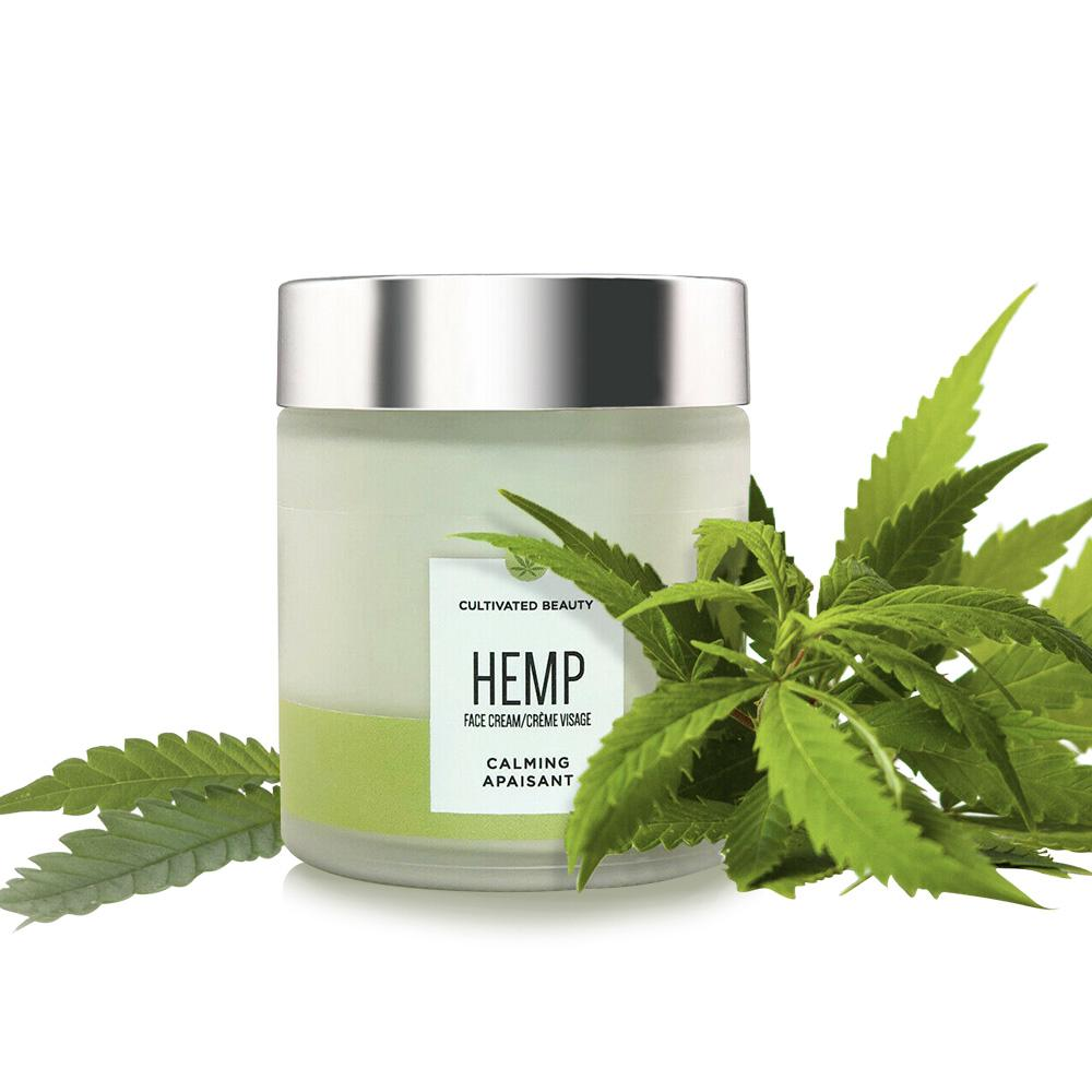 Cultivated Beauty Hemp Face Cream 100ml