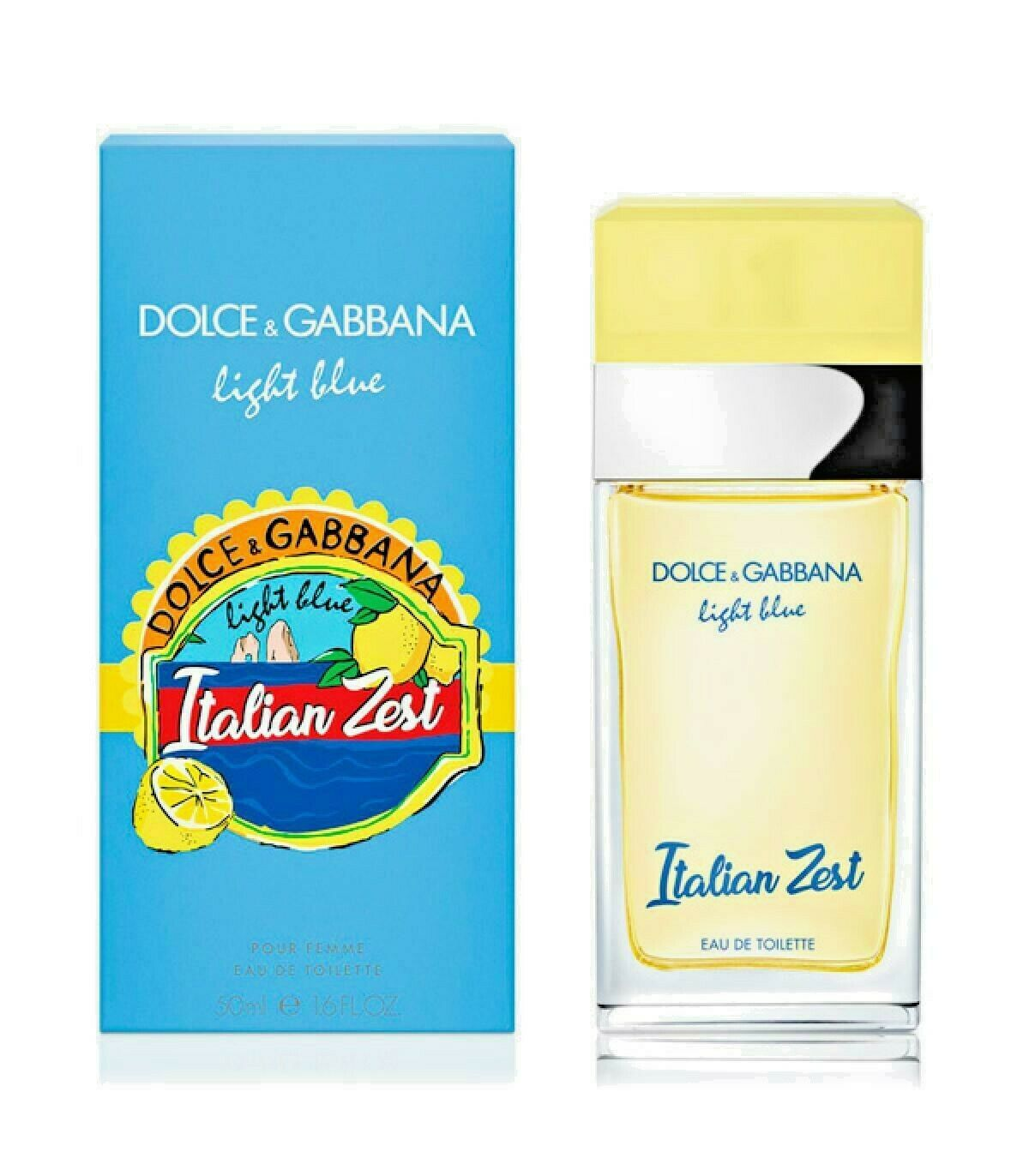 Dolce & Gabbana Light Blue Italian Zest 50ml for Women