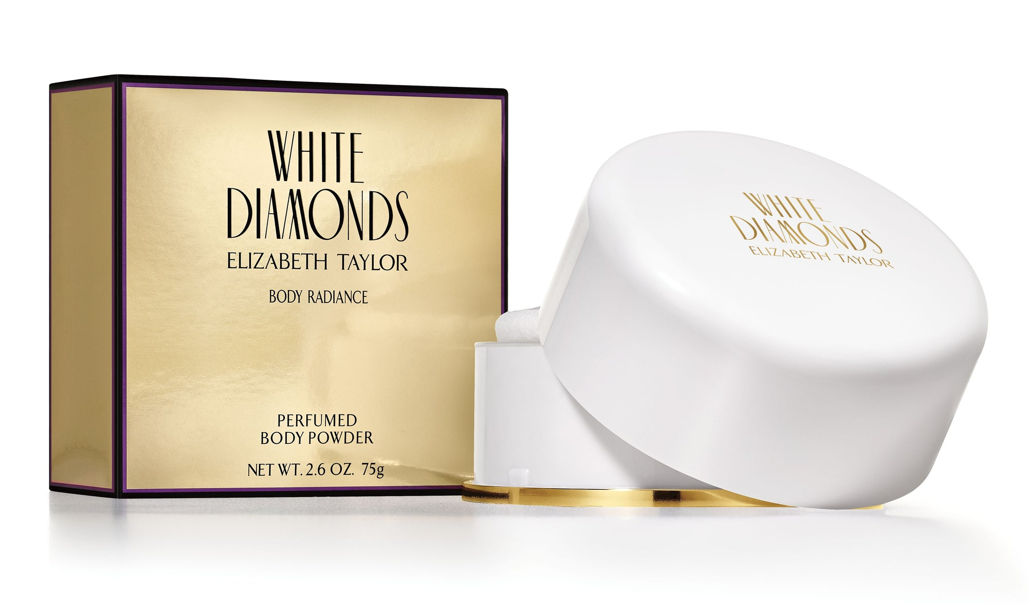 Elizabeth Taylor White Diamonds Body Radiance Perfumed Body Powder 75g
