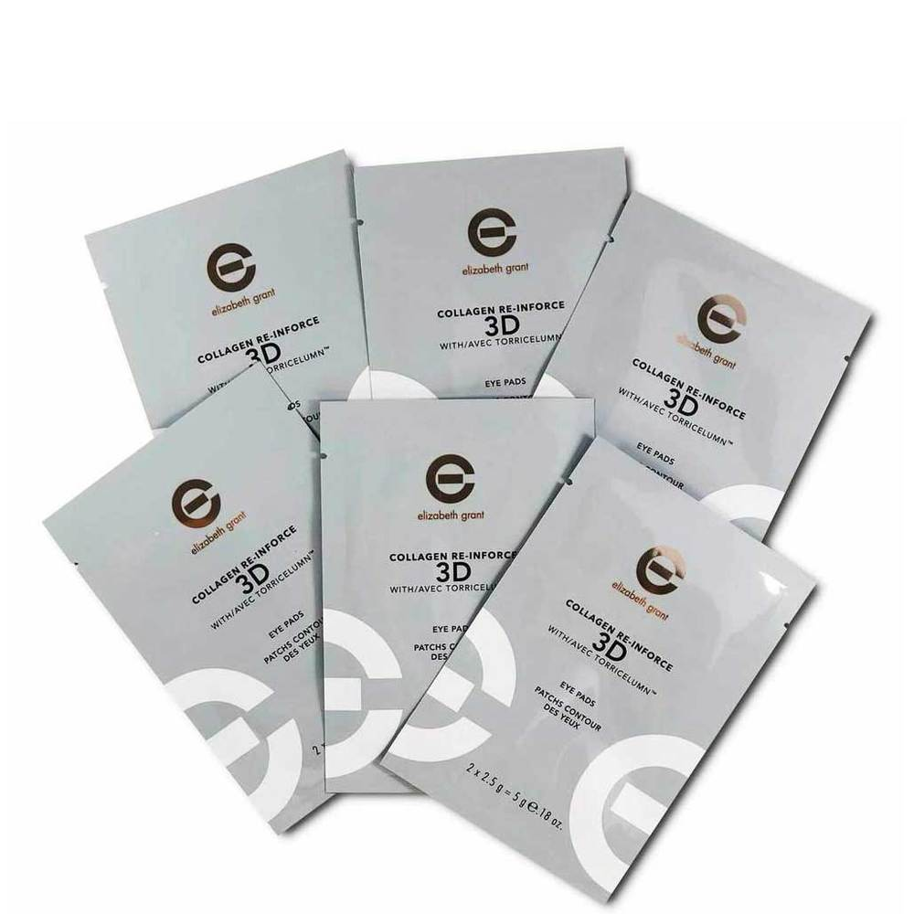 Elizabeth Grant Collagen Re-Inforce 3D Eye Pads 6 x 5g Satchets