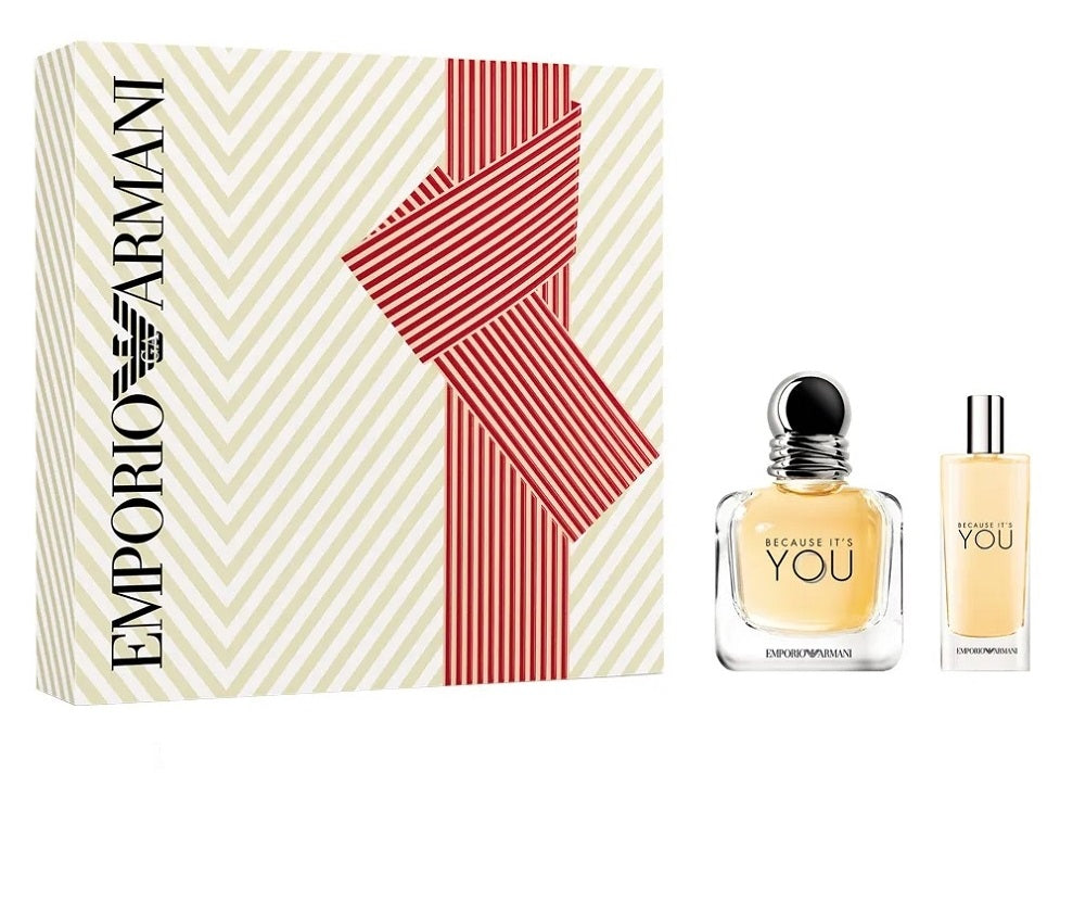 armani because it's you gift set