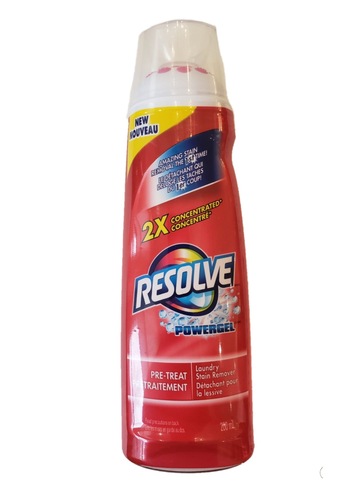 RESOLVE Powergel Laundry Stain Remover 200ml
