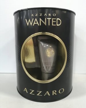 Azzaro Wanted 2pc Set 100ml EDT w/ 50ml Face Care Moisturizer