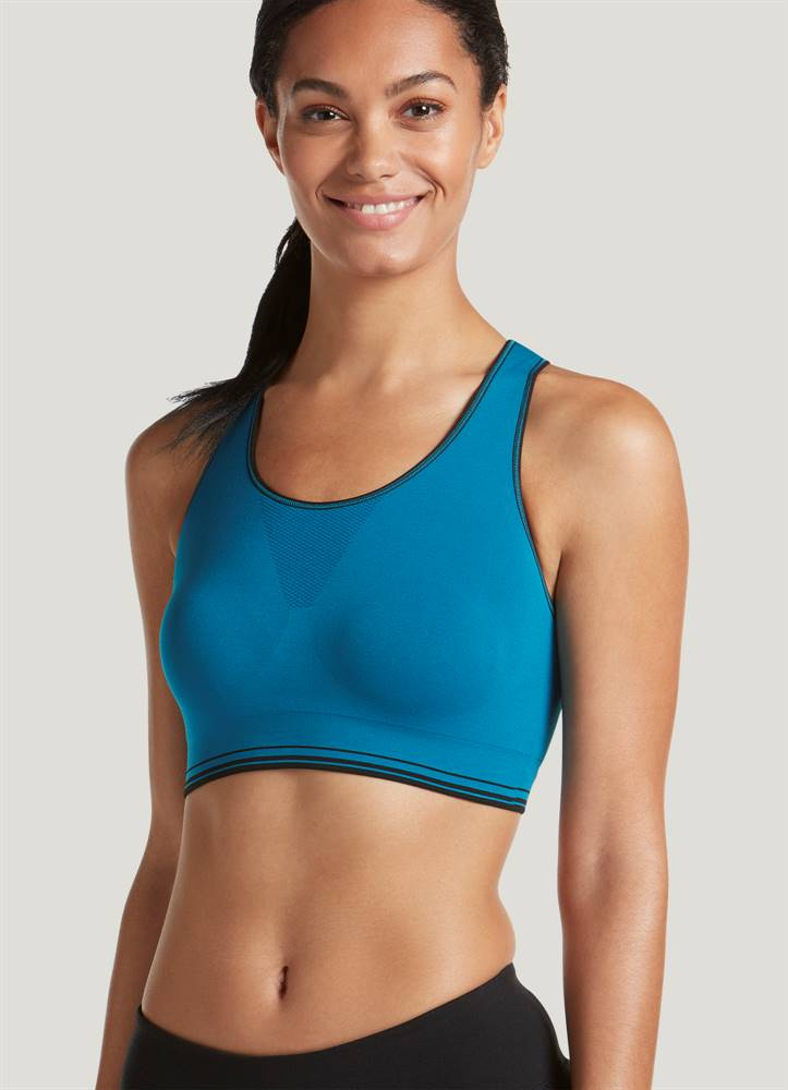 Jockey Reversible Sports Bra Crop Top