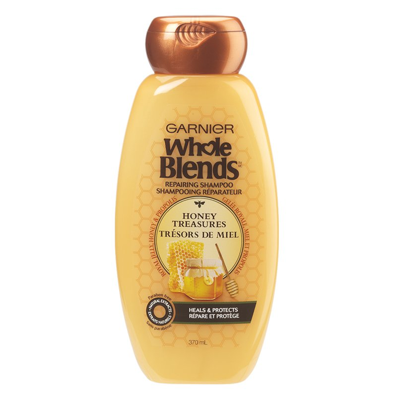 Garnier Whole Blends Repairing Shampoo Honey Treasures 370mL