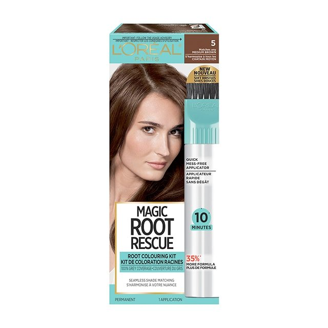 L'Oreal Root Rescue Medium Brown 5