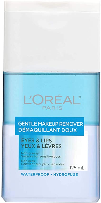 L'oreal Gentle Makeup Remover Eyes & Lips 125mL