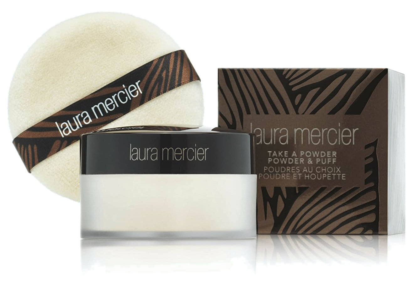Laura Mercier Take a Powder Translucent Loose Setting Powder - Powder & Puff 29g
