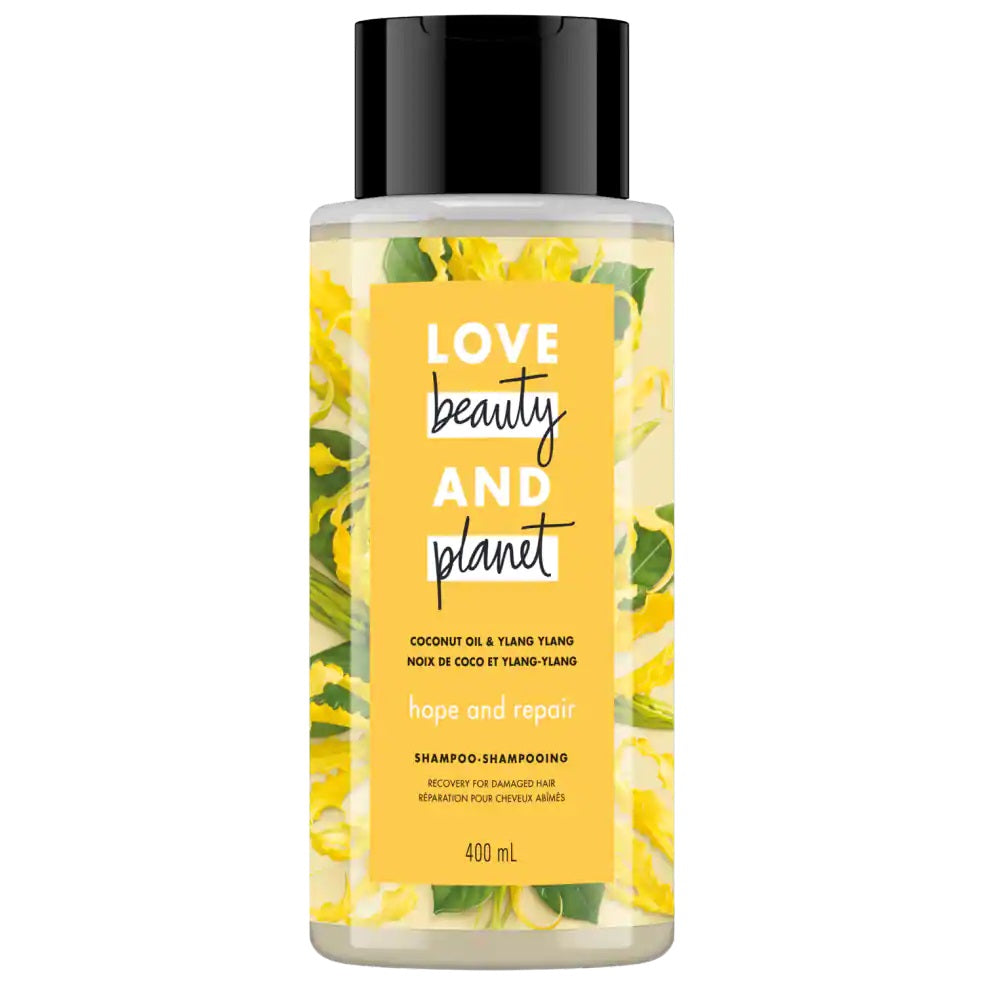 Love Beauty and Planet Shampoo Hope and Repair with Coconut Oil & Ylang Ylang 400ml