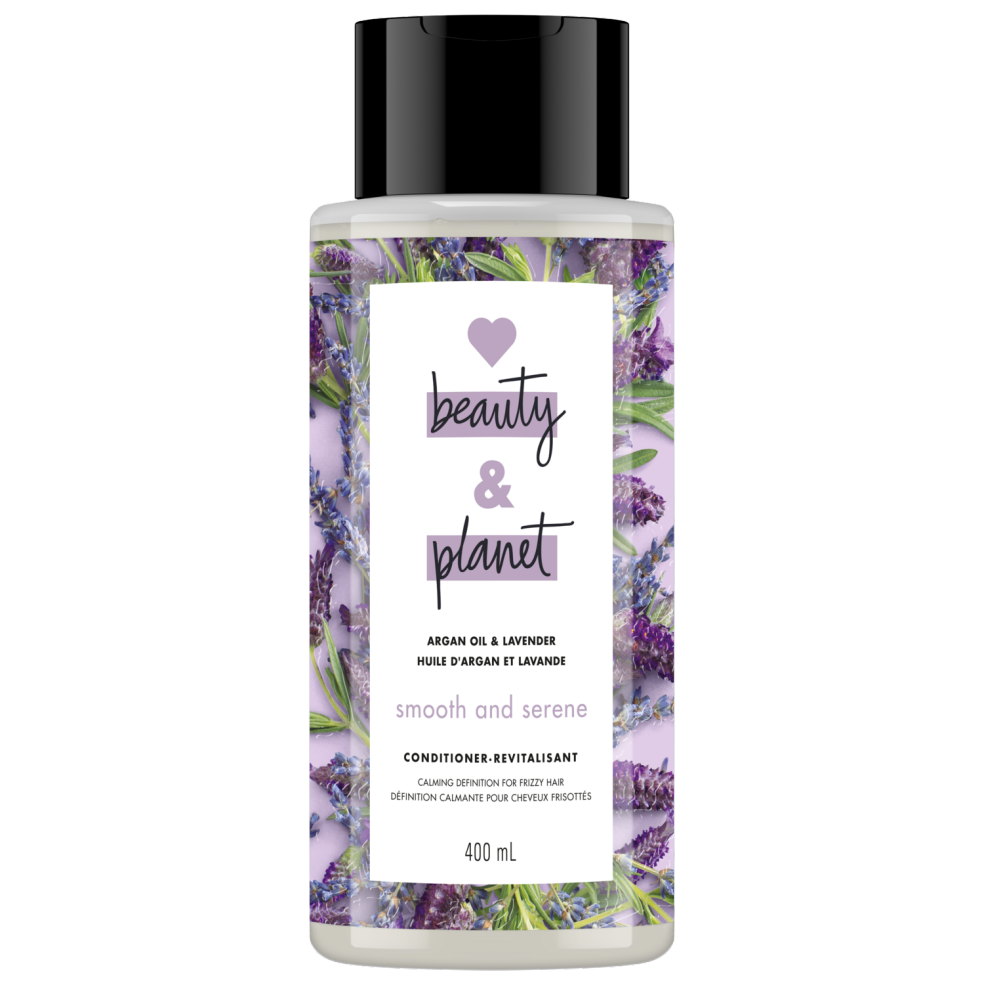 Love Beauty and Planet Conditioner Smooth and Serene with Argan Oil & Lavender 400ml