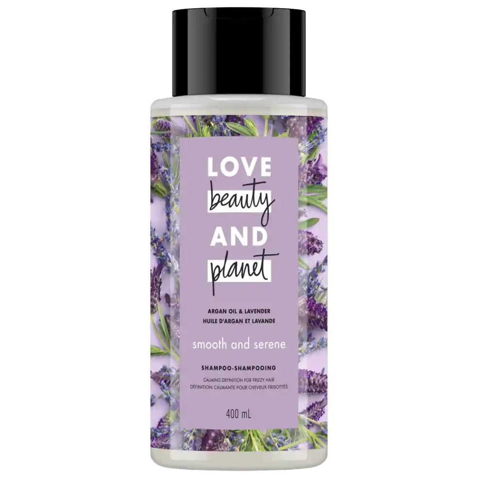 Love Beauty and Planet Shampoo Smooth and Serene with Argan Oil & Lavender 400ml