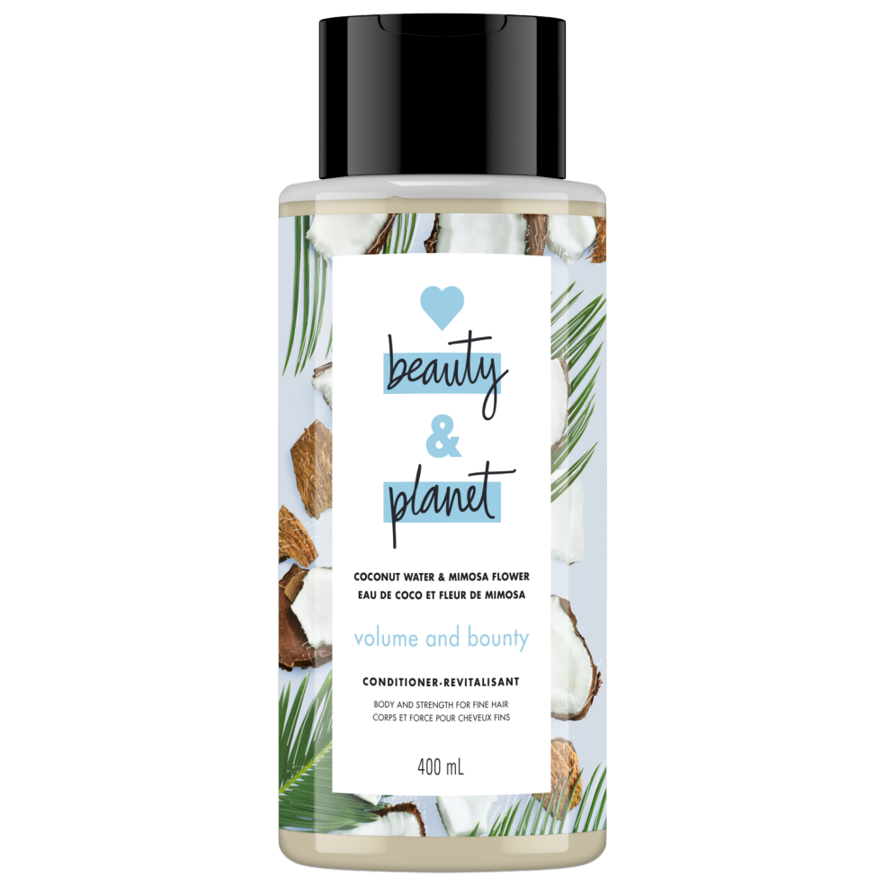 Love Beauty and Planet Conditioner Volume and Bounty with Coconut Water & Mimosa Flower 400ml