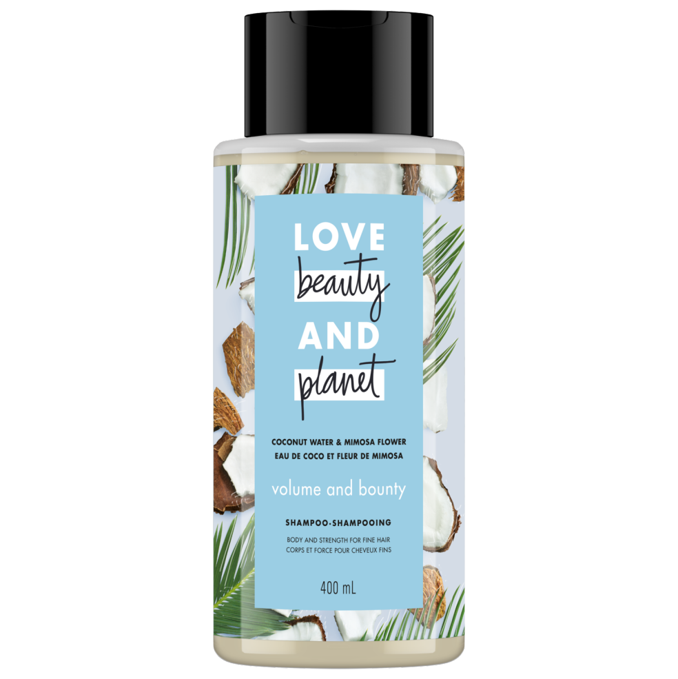 Love Beauty and Planet Shampoo Volume and Bounty with Coconut Water & Mimosa Flower 400ml