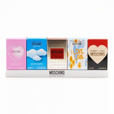 Moschino Miniature Collection 4.9ml x5 Gift Set