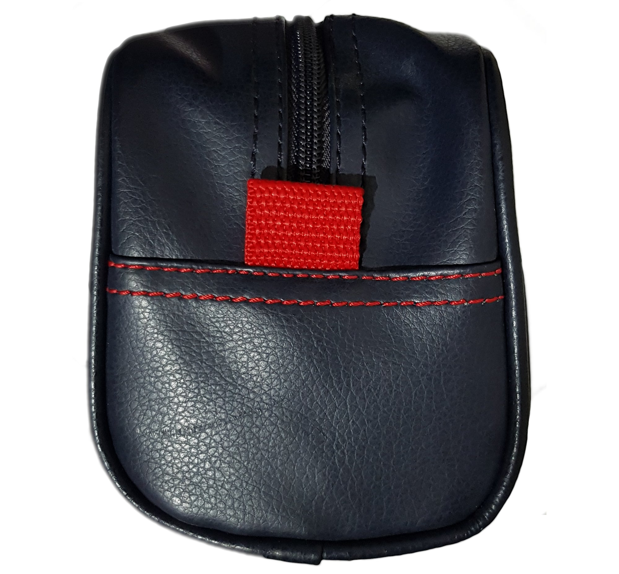 Nautica Toiletries Bag (dark navy blue with red side tab)