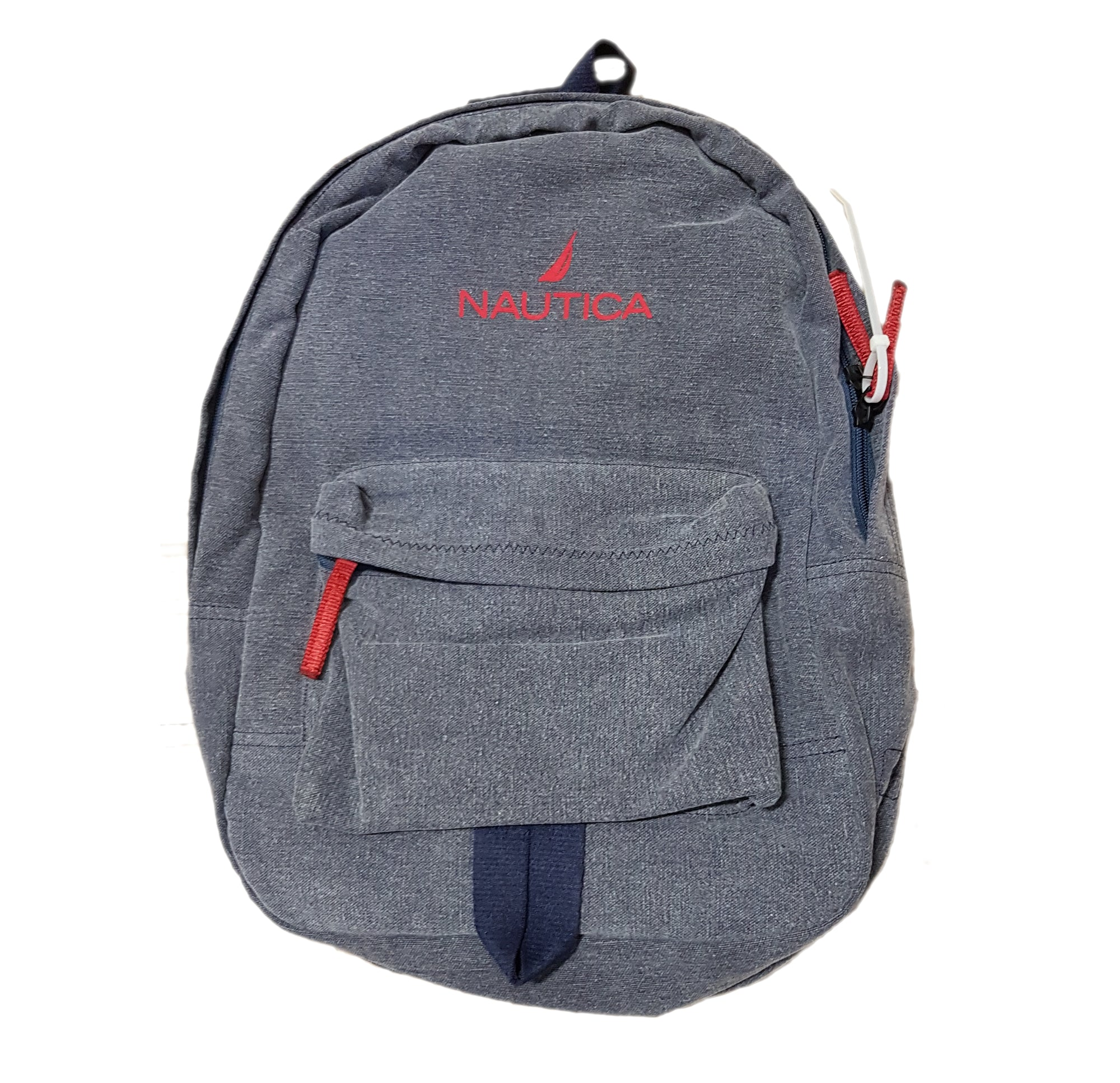 Nautica Water Resistant Cotton Backpack (Navy)