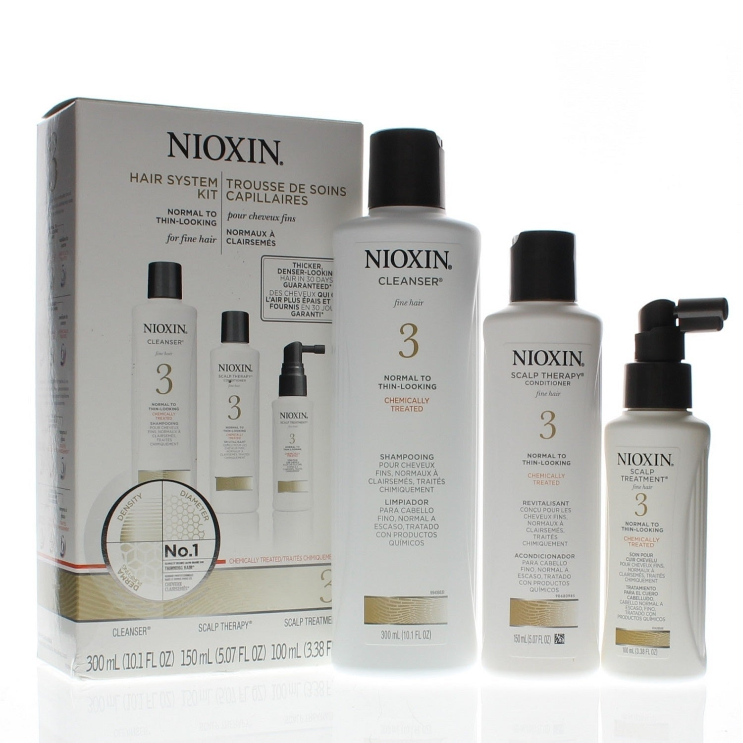 Nioxin System 3 Hair System 3pc Kit