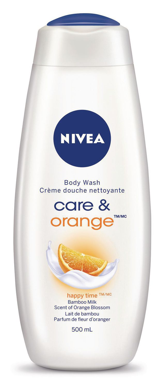 Nivea Body Wash Care&Orange 500ml