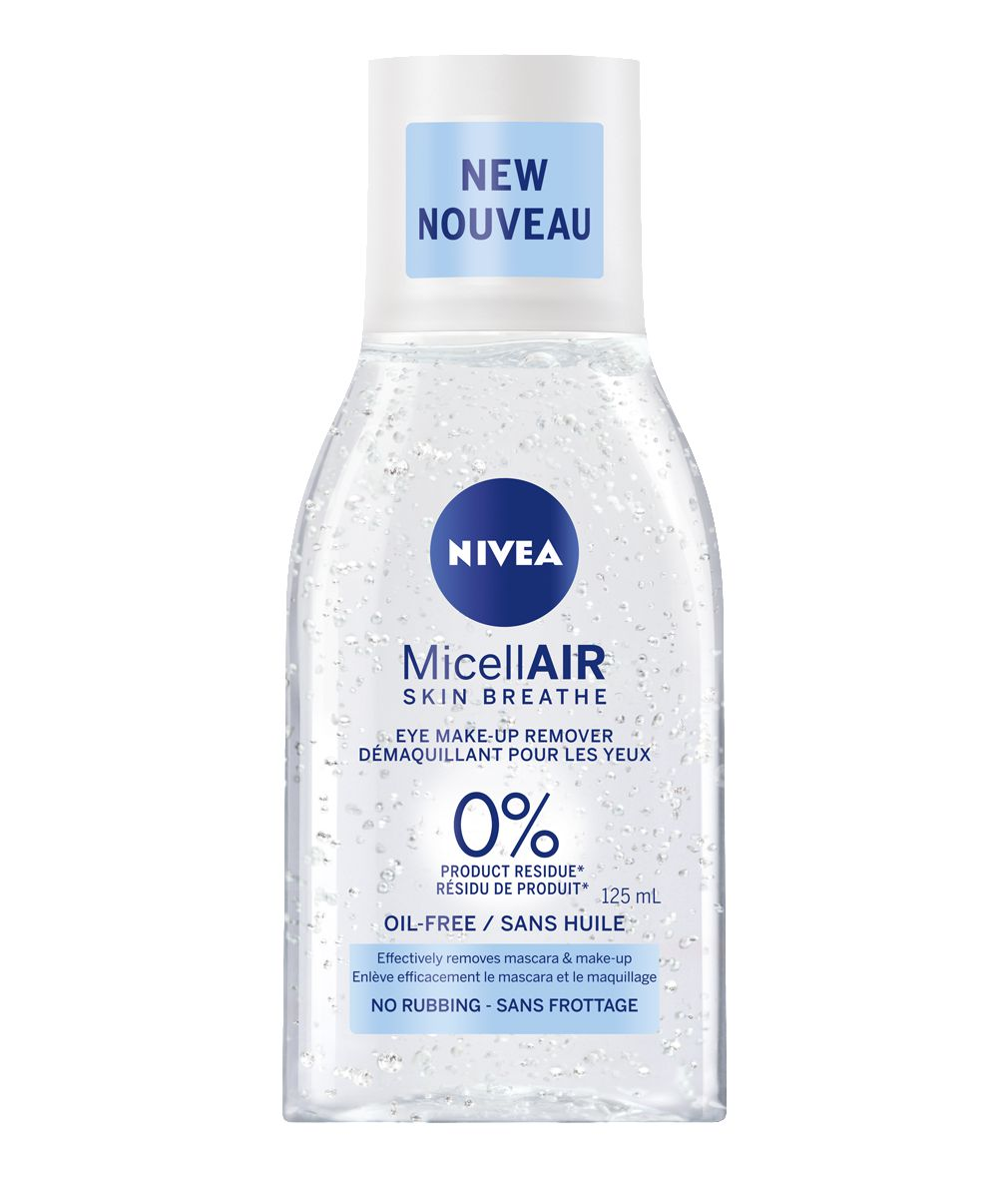 Nivea Micellair Skin Breathe Eye Makeup Remover Oil Free 125ml Lisa S Cosmetics Pop Up Shop