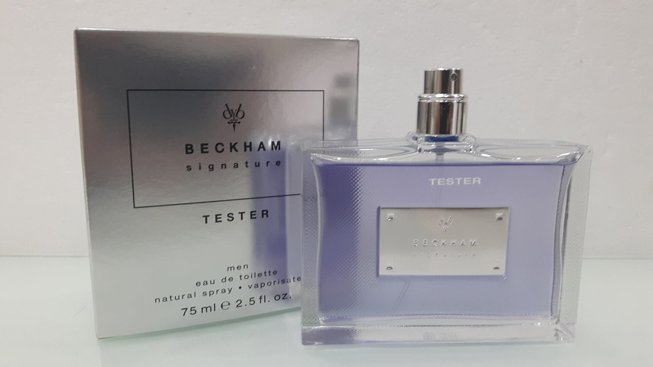 David Beckham Signature 75ml EDT Tester MEN