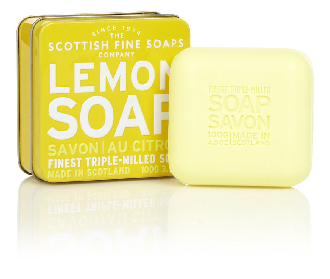 Scottish Fine Soaps Lemon Soap 100g
